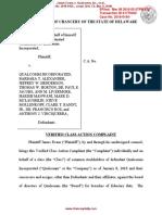 18-03-08 Delaware Evans Complaint