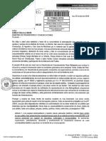 Pedido de información al MTC por casos de antenas