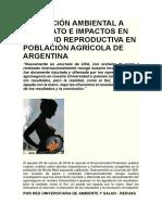 EXPOSICIÓN AMBIENTAL A GLIFOSATO E IMPACTOS EN LA SALUD REPRODUCTIVA EN POBLACIÓN AGRÍCOLA DE ARGENTINA.docx