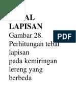 TEBAL LAPISAN