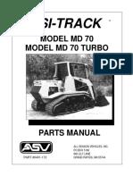 Md70 Parts Manual