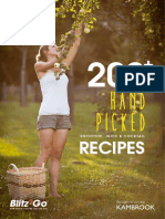 Blitz2Go Recipe Book