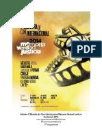 Informe Narrativo Final - V Muestra de Cine MVJ 2014