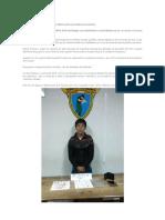 Esneider Estela Terrones Es Un Delincuente Conocido Por La Policía