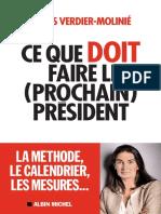 Agnès Verdier-Molinié - Ce Que Doit Faire Le (Prochain) Président (1)