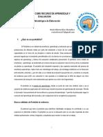 El Portafolio Como Recurso de Aprendizaje y Evaluacion