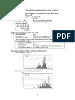 Status of the Thyroid Ultrasound Examination (June 18, 2018)