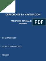 Panorama General Del Derecho de La Navegacion