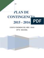 Plan de Contingencia Mtt8