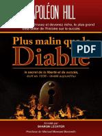Plus Malin Que Le Diable - Napoleon Hill