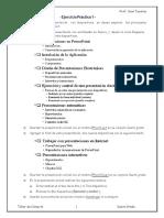 Ejercicio 1 PowerPoint