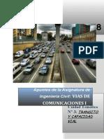 Apuntes Unidad 03 - Transito y Capacidad Vial_2018