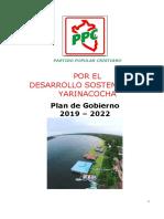Plan de Gobierno Ppc Yarinacocha 2018