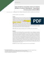 A 2012, Costa, I. O.et Al. Macroalgas Bentônicas Associadas a Bancos de Hypnea Musciformis Gigartinales Em Duas Praias Do Litoral Baiano