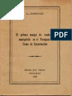 El Primer Amago de Tendencia Anarquista en El Paraguay. Toma de Encarnacion - L. Naboulet