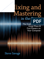 Mixing Mastering on the Box Portugues