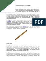 Instrumentos Musicales Del Perú