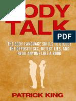 Body Talk by Patrick King