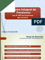 Presentación Sistema Integran de Pensiones
