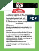 Reglamento Pre Taragüí Rock 2018