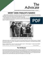 SPHS IB Advocate -  Fall 2011