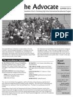 SPHS IB Advocate - Summer 2016