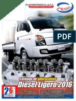 Catalogo Diesel Ligero 2016 PRASA