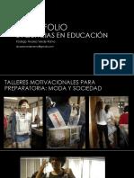PORTAFOLIO evidencias educacion