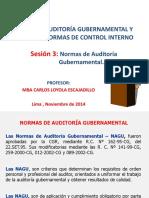 3467 8. Normas de Auditoria Gubernamental