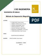 Concentracion Sep Magnetica