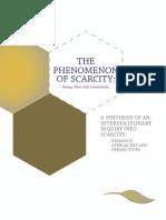 The Phenomenon of Scarcity