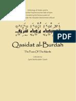 The poem of the mantle (Qasida al-burda) by Mohammed al-Busiri.pdf