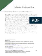 Antifungals Mechanism of Action and Drug Resistance