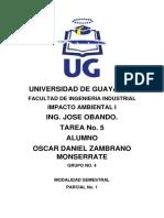 Impacto Ambiental Tarea No. 5.docx