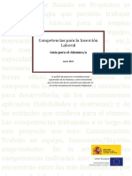 Competencias Para La Incersión Laboral - Alumno
