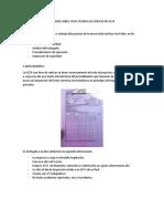 Informe Sobre Visita Tecnica de Edificio de Ucsp