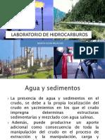 Analisi de Agua y Sedimentos