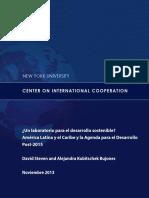 Sustainable Development Post2015 Sp