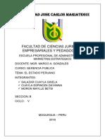 Gestion Publica Mexico