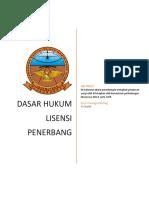 CASR 61 Dasar Lisensi Penerbang DI Indonesia