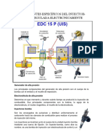 componentes de la bomba rotativa, inyector-bomba, bomba-tubería-inyector