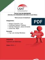 Ingenieria de Materiales Informe. DEFINITIVO