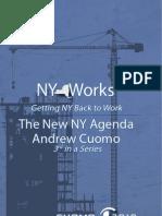 Andrew Cuomo Ny Works Agenda