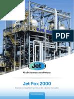 Cartilla Jet Pox 2000