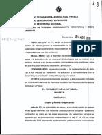 Decreto Ley mordaza sobre el agua en Uruguay