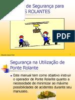 Manual de Segurança PONTE ROLANTE