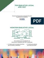 Informe Monitor Educativo 2017