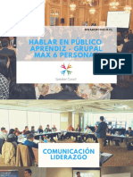 Presentación Speaker Coach - Aprendiz Grupal