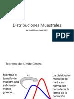 Distribuciones de Muestreo Parte 2