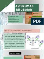 Trastuzumab y Rituzimab
